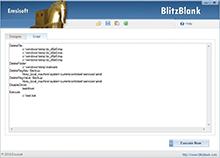Emsisoft BlitzBlank - Script View