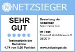 Netzsieger test 2014-08